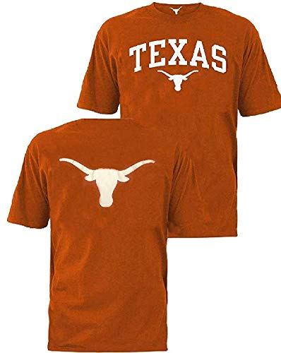 289c apparel Texas Longhorns Orange UT Billy 2 Sided Short Sleeve T Shirt - Ut Longhorn Football