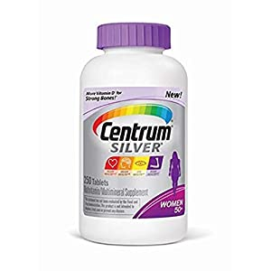 Centrum Silver Women Multivitamin/Multimineral Supplement Tablet (1 Bottle 250ct)