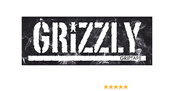 Grizzly Griptape Hot Box Stamp Skateboard Sticker skating sk8 skate skate new