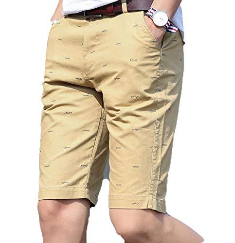 Estate Festivo 2018 Uomo Medi Corti 38 Traspiranti Lannister Pantaloncini Casual Size Pantaloni Cargo Khaki color A Abbigliamento ABxwFqFE