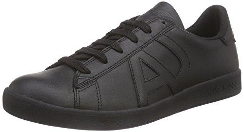 Armani 06565YO - Brogue Hombre Negro - Schwarz (NERO - BLACK 12)