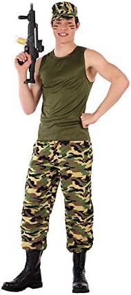 DISBACANAL Disfraz Soldado Militar para Adolescente - -, XXS ...