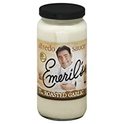 Emeril\'s Roasted Garlic Alfredo Sauce, 16 Oz. (Pack of 3)