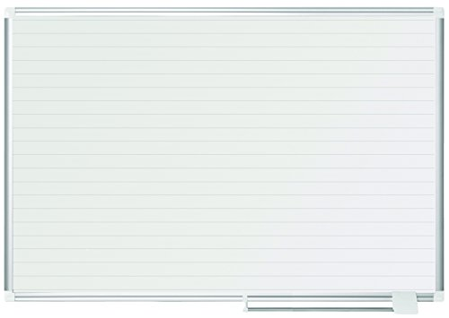 - MasterVision Planning Board Magnetic Ruled Dry Erase, 36