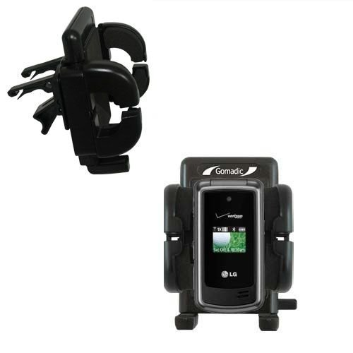 Gomadic Air Vent Clip Based Cradle Holder Car / Auto Mount suitable for the LG VX5500