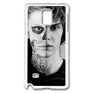 American Horror Story DIY Design Printed Protective Hard Case Cover for Samsung Galaxy Note 4 - One Piece Back Case Shell Designed by Windy City Accessories