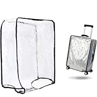 """1PCS Luggage Cover Suitcase Cover Transparent Protectors Case for 20""""24""""28""""30"""" (Small, Transparent)"""