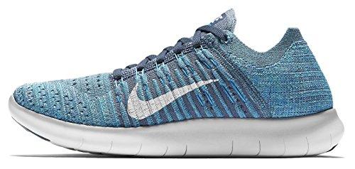 Flyknit Ocean da RN Nike Wmns blue Free Glow White Scarpe Corsa Fog Donna qww6tCpc