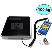Báscula electrónica 100 kg Gas Refrigerante R404 A R410 A R134 a condicionar
