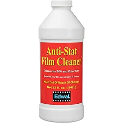 Edwal Anti-stat Film Cleaner, For Black & White & Color Films, 32 Oz. Can