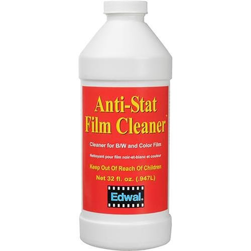 (Edwal Anti-Stat Film Cleaner, for Black & White and Color Films, 32 Oz. Can)