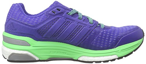 adidas Supernova Sequence Damen Laufschuhe Blau (Night Flash S15/Night Flash S15/Flash Green S15)