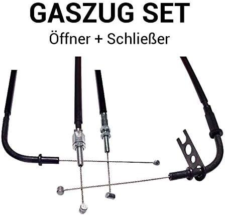 Gaszug Set /Öffner Schlie/ßer f/ür Yamaha YZF-R6 600 2003-2005