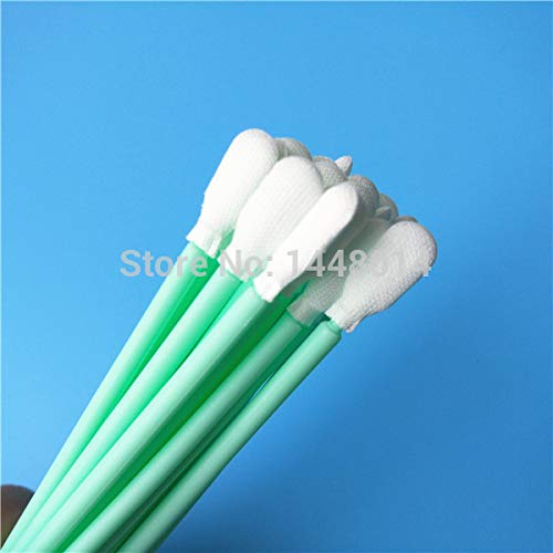 Printer Parts Manufacturers Supply for Eps0n Yoton Cleaning Swab Sponge 100mm Long Polyethylene Foam Sticks for All Head 100pcs -