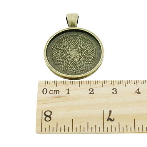 H142 1Pc Simple Merci Words Picture Pendants Charms French Thanks Handmade Fashion 25Mm Glass Bronze Plated Vintage Jewelry Pendants
