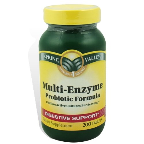 Spring Valley Multi-Enzyme Probiotic