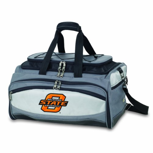 NCAA Oklahoma State Cowboys Buccaneer Tailgating Cooler with Grill by PICNIC TIME
