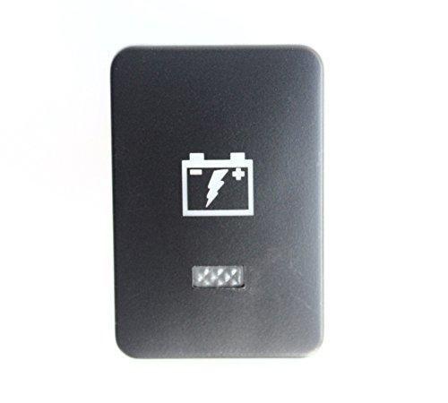 Bandc 12V Amber On-off Push Switch For Prado 150 Series 2010-2014,For Prado 200 Series 2015-Onwards,For Landcruiser 200 Series 2008-2013,For RAV4 2006-2011,For Hilux 2015-Onwards(AUX BATTERY)