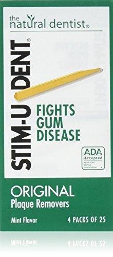 Stimudent Original Plaque Removers, Mint, 100 Toothpicks