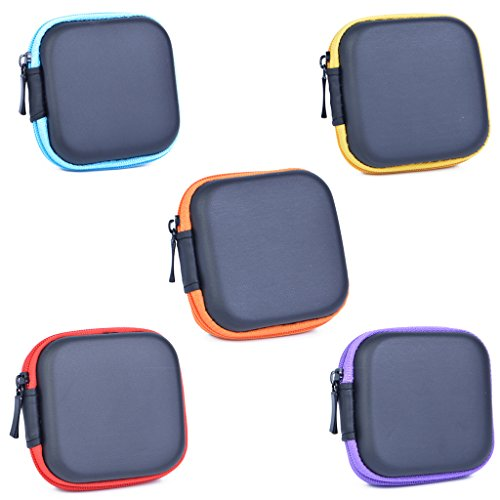 Coolsell [5-Pack] Square Carrying Cases for