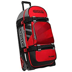 It's easy-to-access, wide-mouth main compartment will keep your journey moving. When it's time to run, the telescoping pull handle is one step ahead of you. Let style, convenience, and durability join you in your next adventure, choose the Ri...