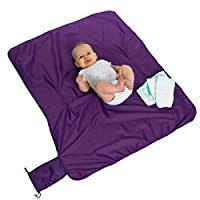 Compact Changing Mat by Cossettie - 3 color options - ripstop nylon, extra la...