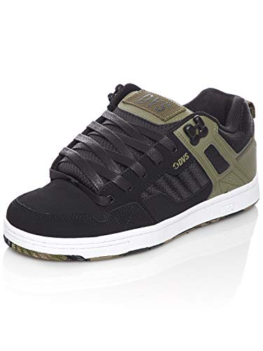 DVS Skateboard Shoes Enduro 125 Olive/Black/White Size 8
