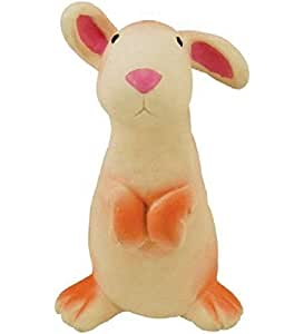 """Rich Frog Sparky Rabbit Natural Rubber Baby Teether Toy - 6"""""""