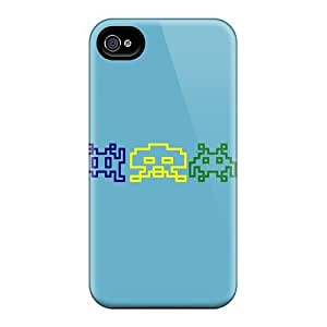 Hot Space Invaders First Grade Phone Cases Ipod Touch 4