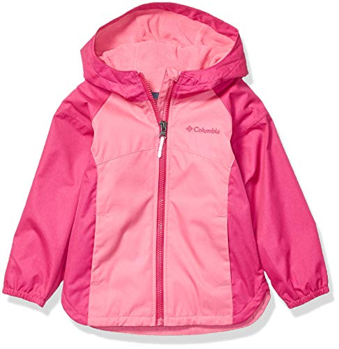 - Columbia Girls' Toddler' Endless Explorer Jacket, Wild Geranium Haute Pink Heather, 2T