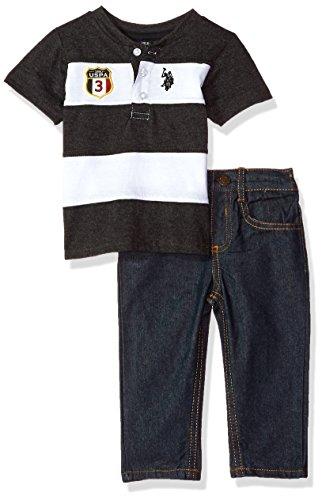 U.S. Polo Assn. Baby Boys T-Shirt and Pant Set
