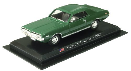 1967 Mercury Cougar (Mercury Cougar - 1967 diecast 1:43 model (Amercom SD-30))