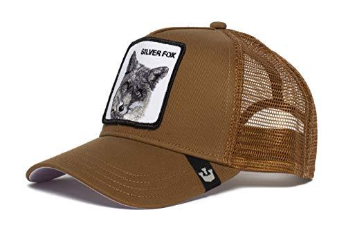 Goorin Bros. Mens 'Silver Fox' Fox Trucker Snapback Baseball Hat