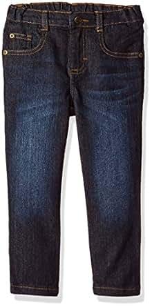 Wrangler Authentics Authentics Boys' Skinny Jean, Dark wash, 2T