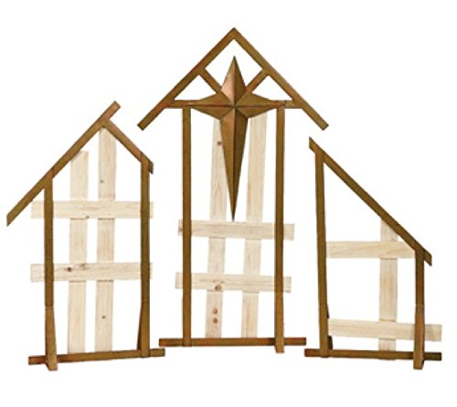 Napco Display Creche, 3 Piece ()