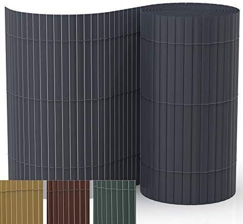 IR Experten Estera de protección Visual de PVC balcón y terraza. Valla de protección de visión de jardín.: Amazon.es: Jardín