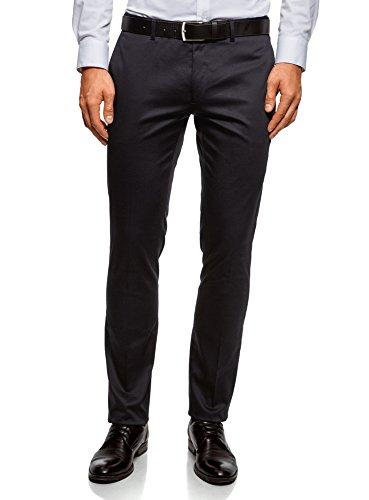 Pantalon Homme Oodji 7900n Coton Fit Bleu Slim Ultra En 4CHHwAxTq