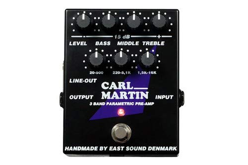 Carl Martin 3-Band Parametric Pre-Amp Pedal