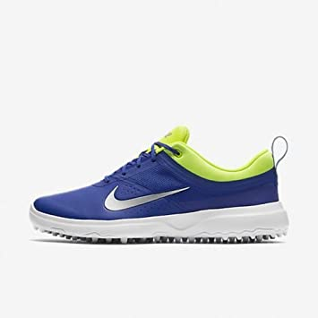 new arrival 7e9b7 a8fc3 NIKE Akamai – Femme Chaussures Bleu Argent Taille UE 40 ...