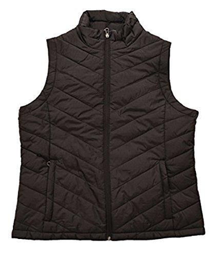 Columbia Womens Morning Light III Onmi Heat Winter Jacket Vest, Black (010), Large
