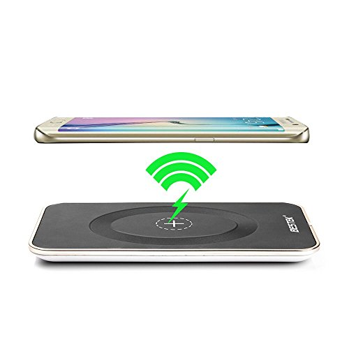 BESTEK Qi Wireless Charging Pad Wireless Charger for Nokia Lumia 920/950/820 Samsung Galaxy S3,S4,S6,S7, Galaxy S6 Edge, Note 5, Nexus 6, Nexus 5 HTC Droid DNA, LG Optimus Vu2/ LG Nexus 4