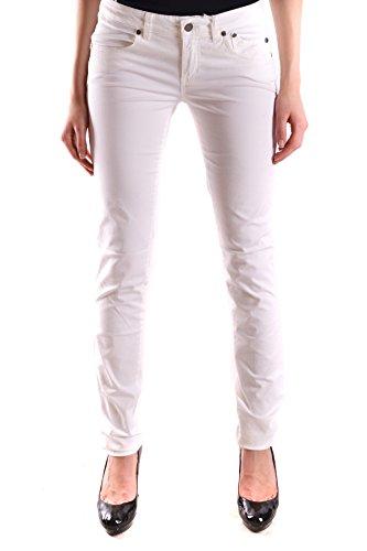 Jeckerson Femme MCBI162007O Blanc Coton Jeans