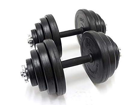 Generic Biceps TR - Juego de 2 Mancuernas de Entrenamiento de Fitness (Goma, 7