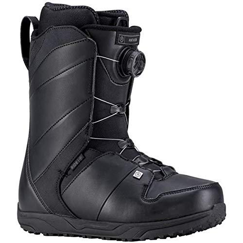 Boots Lock Boa Snowboard - Ride Anthem 2019 Snowboard Boot - Men's Black 10.5