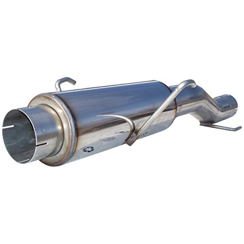 (MBRP MK96116 T409 Stainless High-Flow Muffler Assembly)