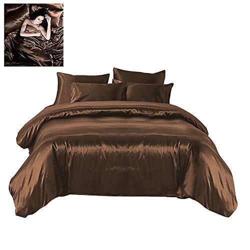 Todd Linens Sexy Satin Sheets 6 Pcs Queen/King Bedding Set 1