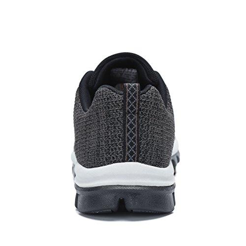 Sportschuhe Leichte Laufschuhe Schuhe Sneakers Schwarz Turnschuhe Dannto Knit Sneaker Schnüren Training Atmungsaktiv Männer Sport Sommerschuhe Herren 5EXwnxq1