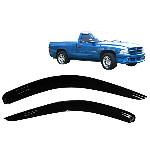 Compare Price To Dodge Dakota Window Rain Guards