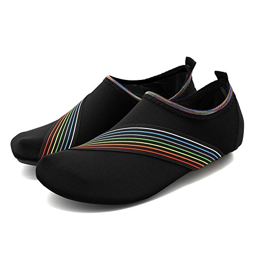 R Women Fanture Multifunctional Barefoot Aqua Shoes Water Skin Sports Slip Men black Breather Lightweight Quick and Anti Dry garxUaq5wf