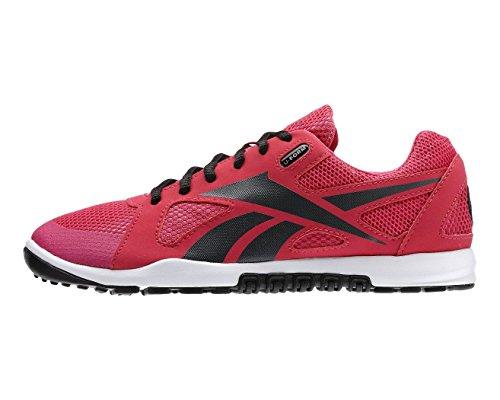 Reebok R Crossfit Nano U-Form - Chaussures de sport Femme - Rose/Noir - 37,5 EU
